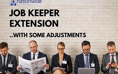 Job Keeper Changes